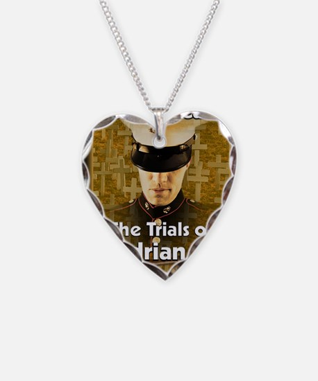 The Trials of Adrian Wheeler  Necklace Heart Charm