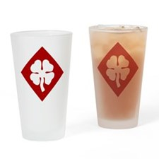 4th Army Drinking Glass