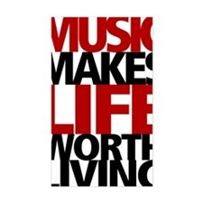 MUSICLIVING2 Decal