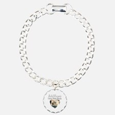 LOVE POLAR BEARS Charm Bracelet, One Charm