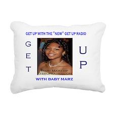 baby marz tshirt Rectangular Canvas Pillow