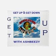 ashbeezy tshirt Throw Blanket