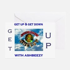 ashbeezy tshirt Greeting Card