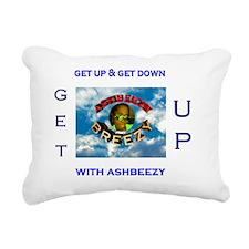 ashbeezy tshirt Rectangular Canvas Pillow
