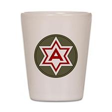 6th Army Shot Glass