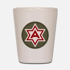 6th Army Shot Glass