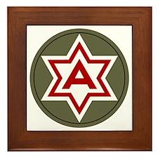 6th Army Framed Tile