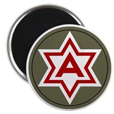 6th Army Magnet