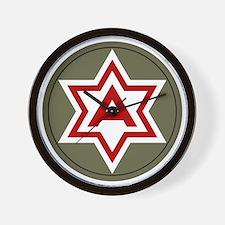 6th Army Wall Clock
