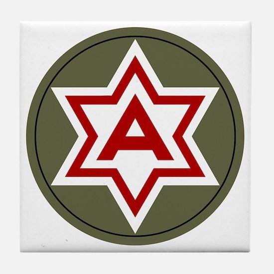 6th Army Tile Coaster