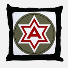 6th Army Throw Pillow