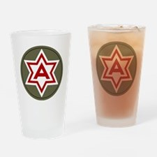 6th Army Drinking Glass