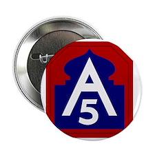 """5th Army - North - USARNORTH 2.25"""" Button"""