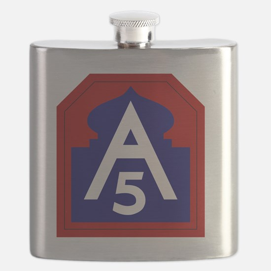 5th Army - North - USARNORTH Flask