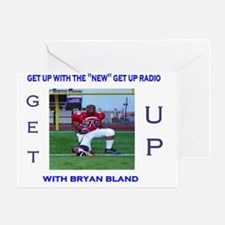 bryan bland tshirt Greeting Card