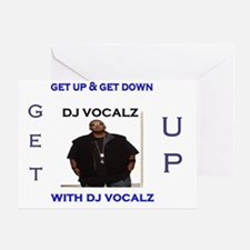 dj vocalz tshirt Greeting Card