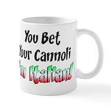 Bet Your Cannoli Kids Mug