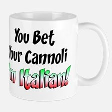 Bet Your Cannoli Kids Mug