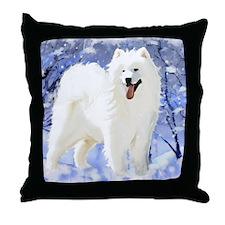 samBlue[1] Throw Pillow