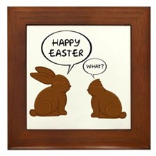 HappyEasterWhat Framed Tile