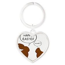 HappyEasterWhat Heart Keychain