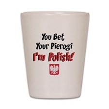 Bet Your Pierogi baby Shot Glass