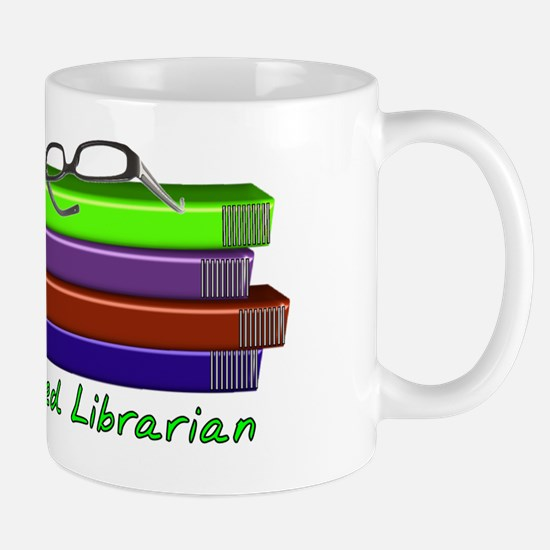 Retired Libraian Mug