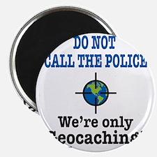 Geocach-white Magnet