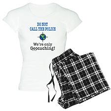 Geocach-white pajamas