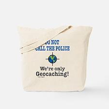 Geocach-white Tote Bag