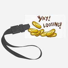 yay_looting_light Luggage Tag