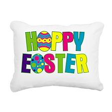 HappyEaster-01 Rectangular Canvas Pillow