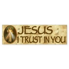 Divine Mercy Bumper Bumper Sticker