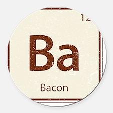 Ba Round Car Magnet