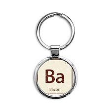 Ba_shirt Round Keychain