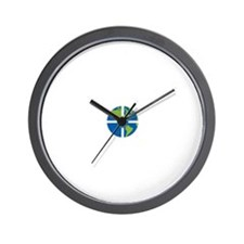 Geocach-dark Wall Clock