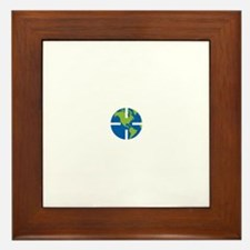 Geocach-dark Framed Tile