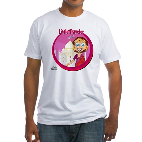 t-shirt_10x10_india Fitted T-Shirt