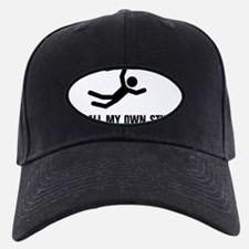 stunts black short Baseball Hat
