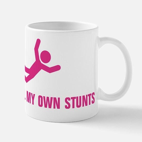 Hot Pink - My Own Stunts Mug