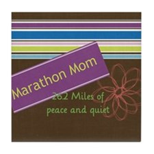 marathonmom4 Tile Coaster