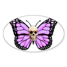 Butterflyskull pink Decal