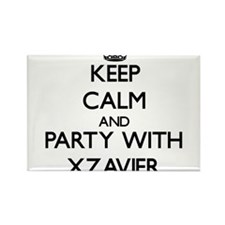 Keep Calm and Party with Xzavier Magnets