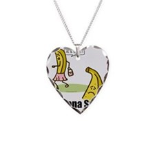 bananasplit Necklace Heart Charm