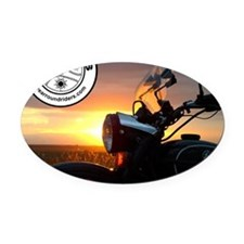 mousepad co_g30 Oval Car Magnet