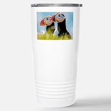 Puffin Pair 12.1x6.1 Travel Mug