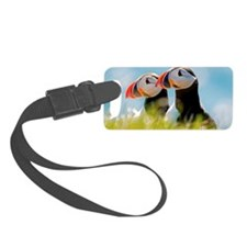 Puffin Pair 12.1x6.1 Luggage Tag