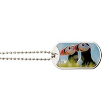 Puffin Pair 12.1x6.1 Dog Tags