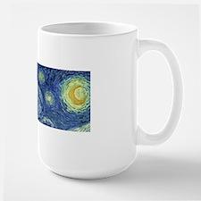 Van Gogh wraparound Large Mug