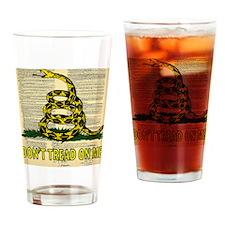 DONTTREADCONST Drinking Glass